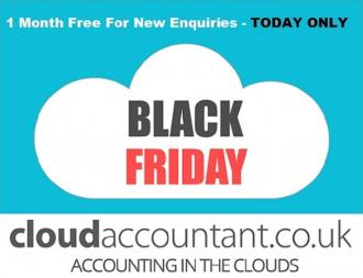 Black Friday Contractor Limited Company Offer. 1 Month Free