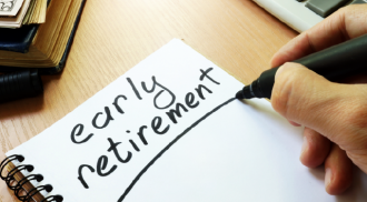 Forty percent of freelancers want to retire before their sixties