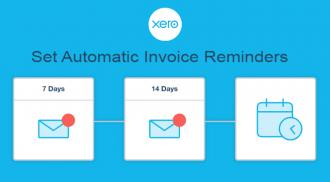 Use automatic invoice reminders to get paid faster with Xero